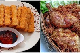 16 Resep masakan rumahan serba digoreng, sederhana, enak, mudah dibuat