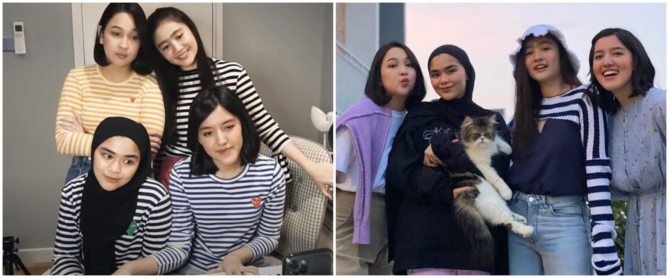 Potret masa kecil vs kini 5 anggota girlband Blink, bikin kaget