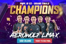Aerowolf Limax wakili Indonesia di final turnamen PUBG Asia Tenggara