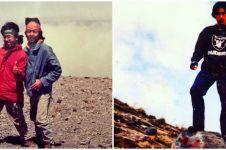 Potret lawas 6 seleb saat mendaki gunung, penampilannya beda banget