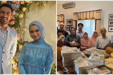 10 Momen lamaran Reza D'Academy dan Valda Alviana, penuh kebahagiaan