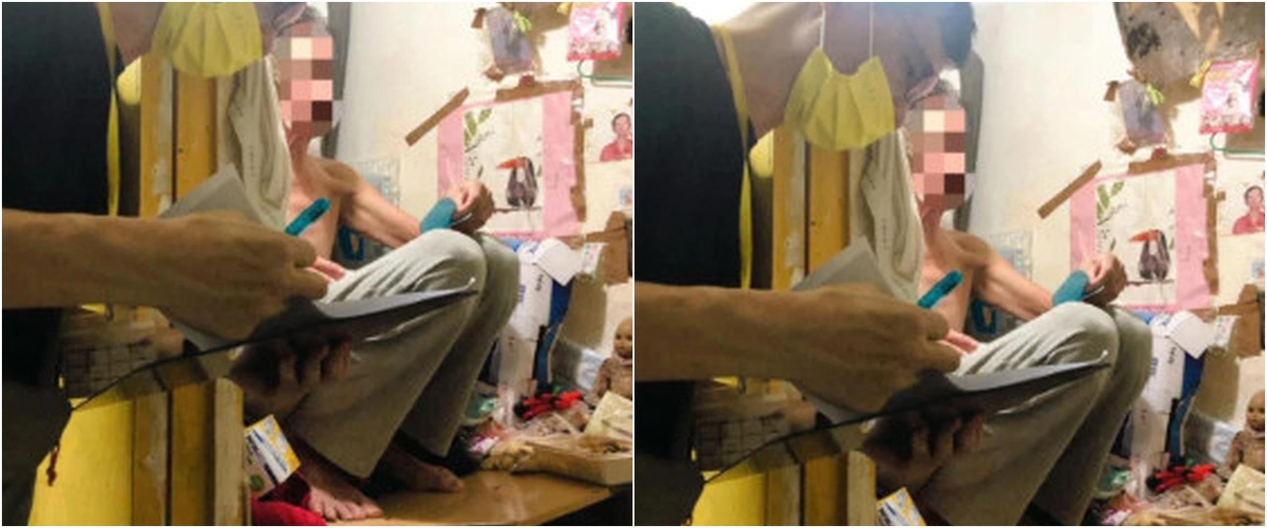 Kisah pilu kakek 60 tahun sewa toilet sempit untuk tempat tinggal
