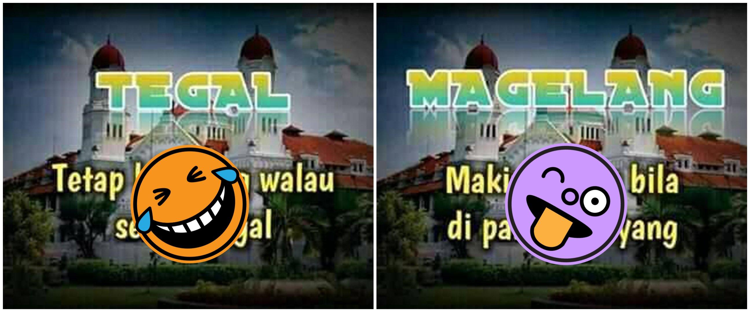 Pelesetan lucu kepanjangan nama 30 kota di Jawa Tengah, kocak banget