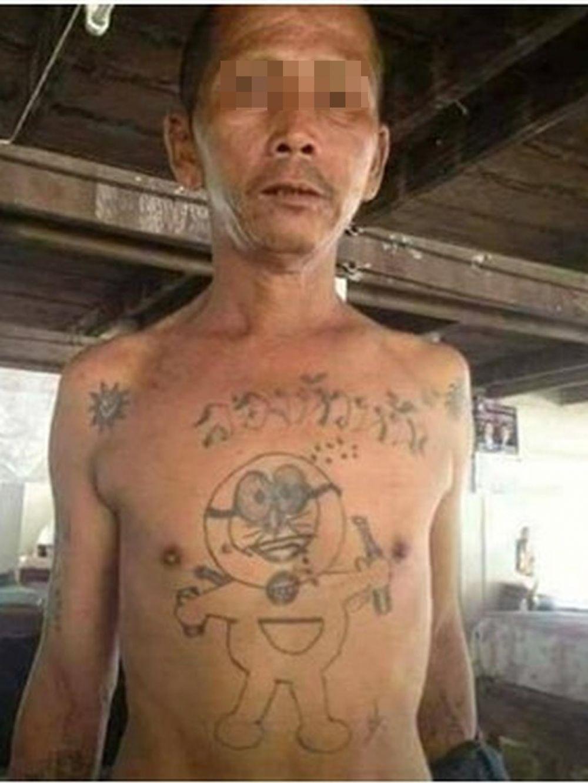 Bentuk tato absurd Berbagai sumber