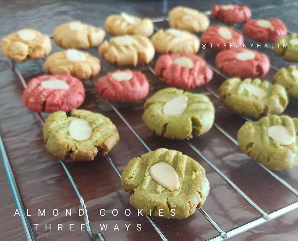 Resep cookies almond © 2020 brilio.net