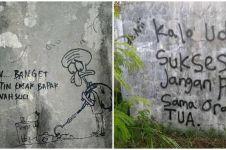 10 Tulisan di tembok tentang orang tua ini pesannya ngena banget