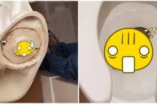 11 Penemuan aneh di toilet ini bikin kamu nggak jadi kebelet