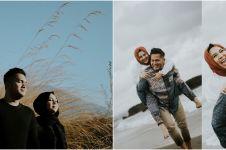 10 Potret prewedding Kesha Ratuliu dan Adhi Permana di Bali