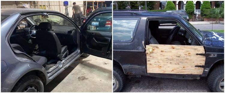 10 Modifikasi nyeleneh pintu mobil ini bikin kamu keheranan
