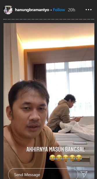 Hanung ultah ke 45 Instagram