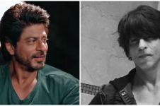 Potret terbaru Shah Rukh Khan saat pandemi, rambutnya jadi sorotan