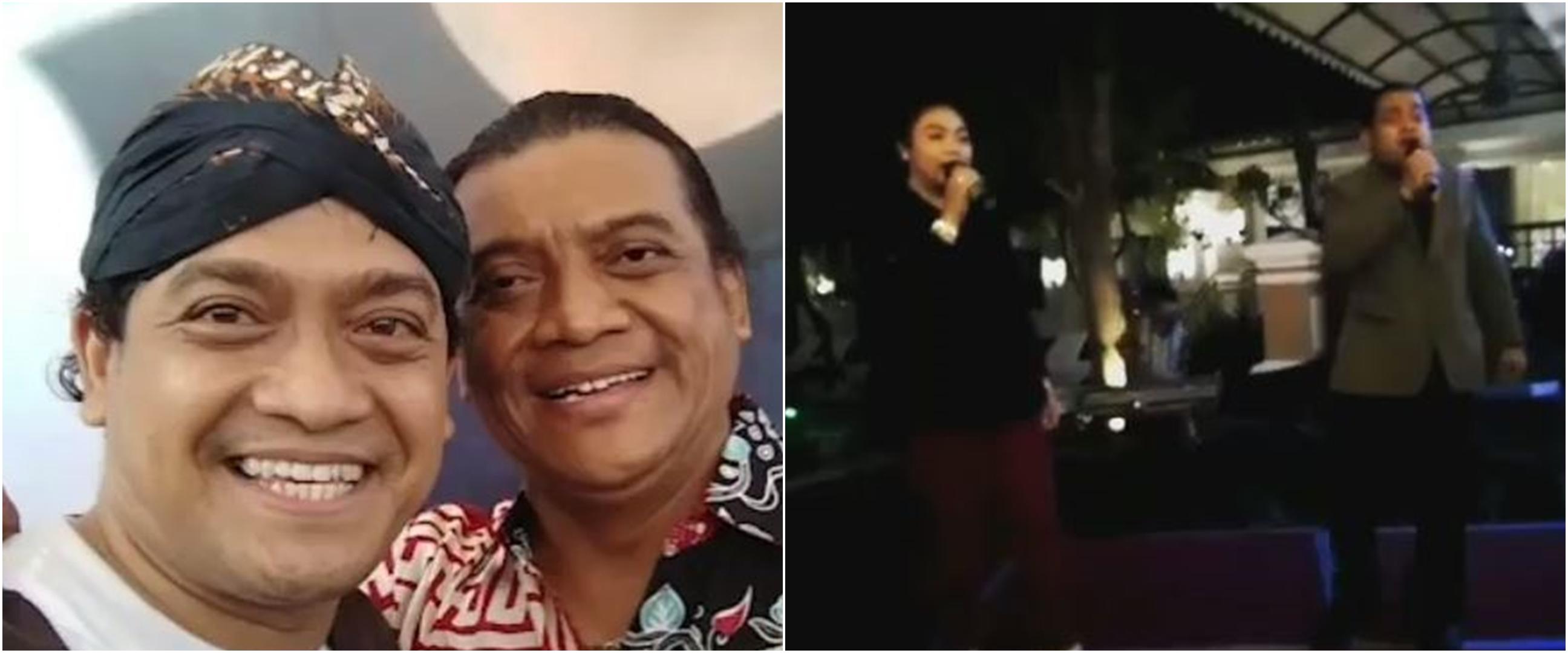6 Momen pertemuan Yan Vellia & Bambang Surono 'kembaran' Didi Kempot
