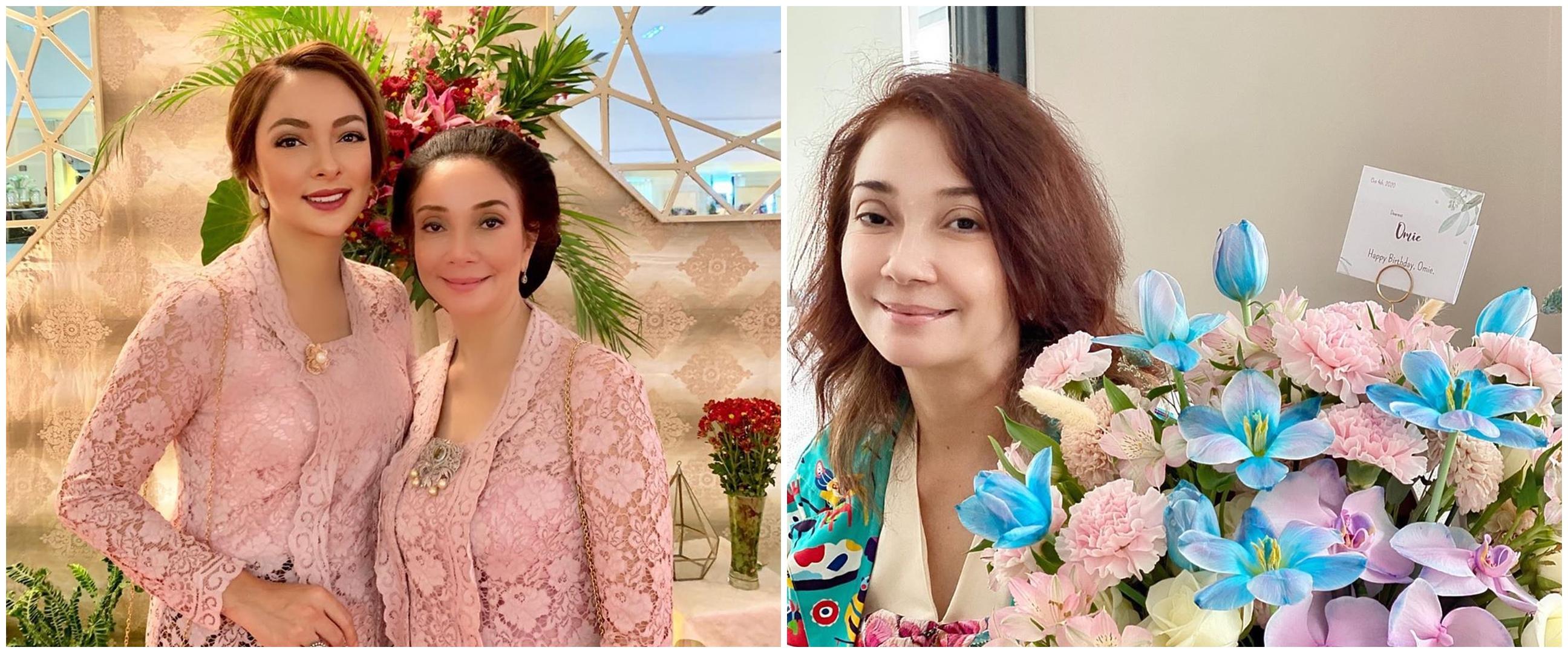 8 Pesona Dewi Pandamsari, ibu dokter Reisa Broto Asmoro yang awet muda