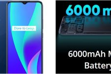 Harga Realme C15 beserta 7 kelebihannya, murah tapi mewah