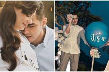 8 Momen bahagia baby shower Asmirandah, umumkan jenis kelamin anak