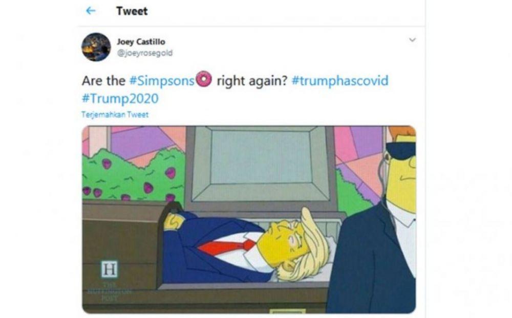 The Simpsons ramalkan kematian Donald Trump Berbagai Sumber