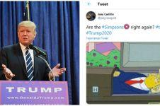 Ramai The Simpsons ramalkan kematian Donald Trump, begini faktanya