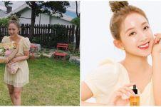 7 Pesona Dita Karang jadi model iklan skincare Korea, cantik natural