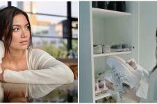 10 Potret walk in closet Angela Gilsha, berkonsep minimalis dan rapi