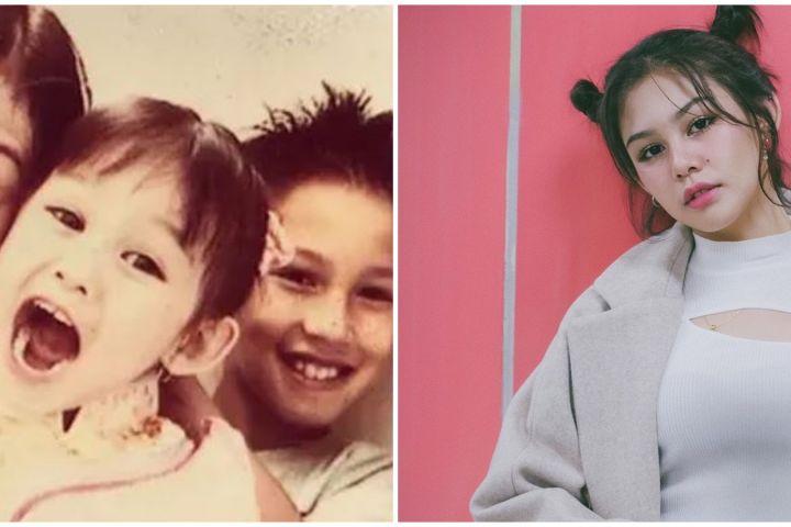 Potret masa kecil 8 pemain film Dilan 1990, Vanesha Prescilla gemas