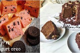 10 Resep chiffon cake lembut, harum, enak, dan mudah dibuat