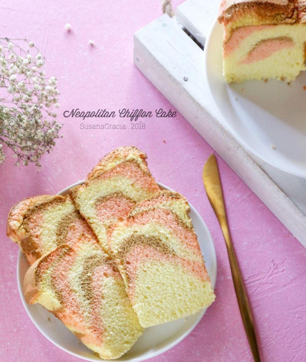 Resep chiffon cake © 2020 brilio.net