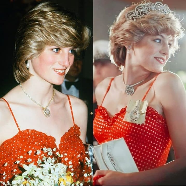 Emma Corrin perankan Putri Diana © 2020 brilio.net