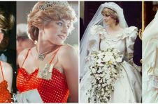 8 Potret Emma Corrin perankan Putri Diana serial The Crown, mirip abis