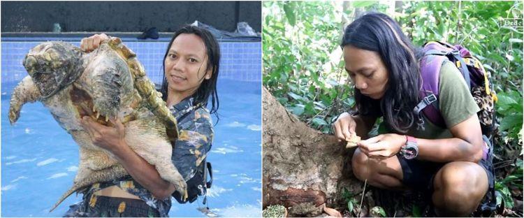 5 Fakta video viral Dede Inoen, mukbang sajen di hutan angker