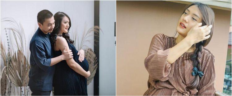 Hamil anak kedua, ini 8 potret maternity shoot Anissa Aziza