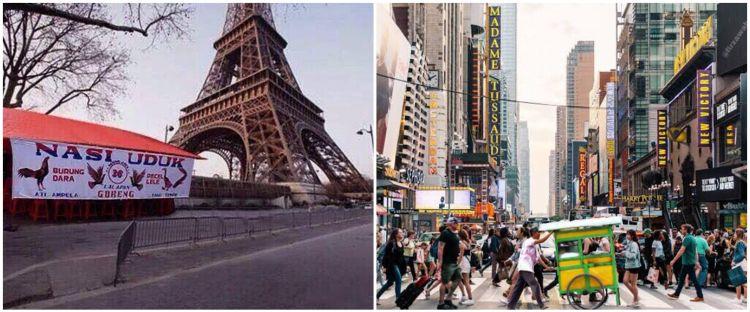 10 Editan foto jika warga Indonesia pindah negara