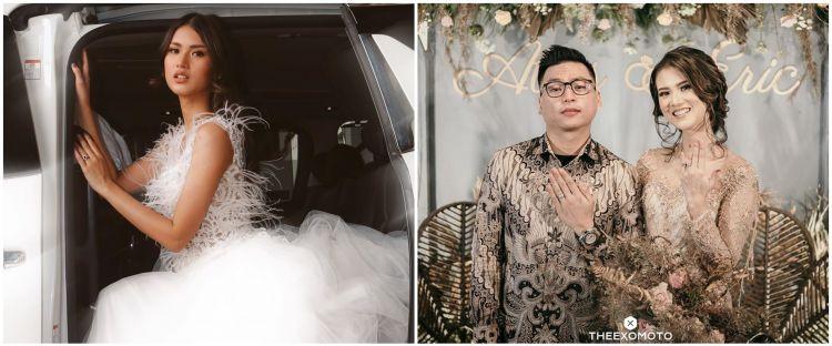 6 Perjalanan cinta Atries Angel mantan Chef Juna hingga menikah