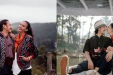 10 Potret liburan Nadine Chandrawinata & suami, membaur dengan alam