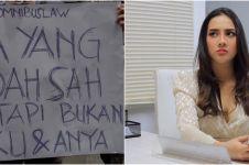 Namanya dipakai poster demo tolak Omnibus Law, ini kata Anya Geraldine