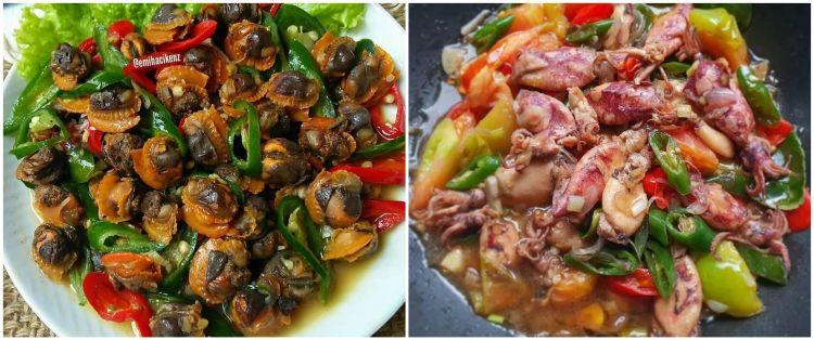 20 Resep tumis seafood, enak, sederhana dan bikin nagih