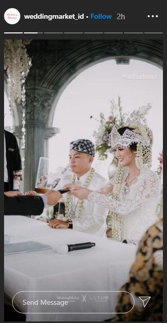Atries Eric menikah Instagram