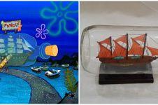 9 Cocoklogi benda di kartun SpongeBob vs di dunia nyata, mirip banget
