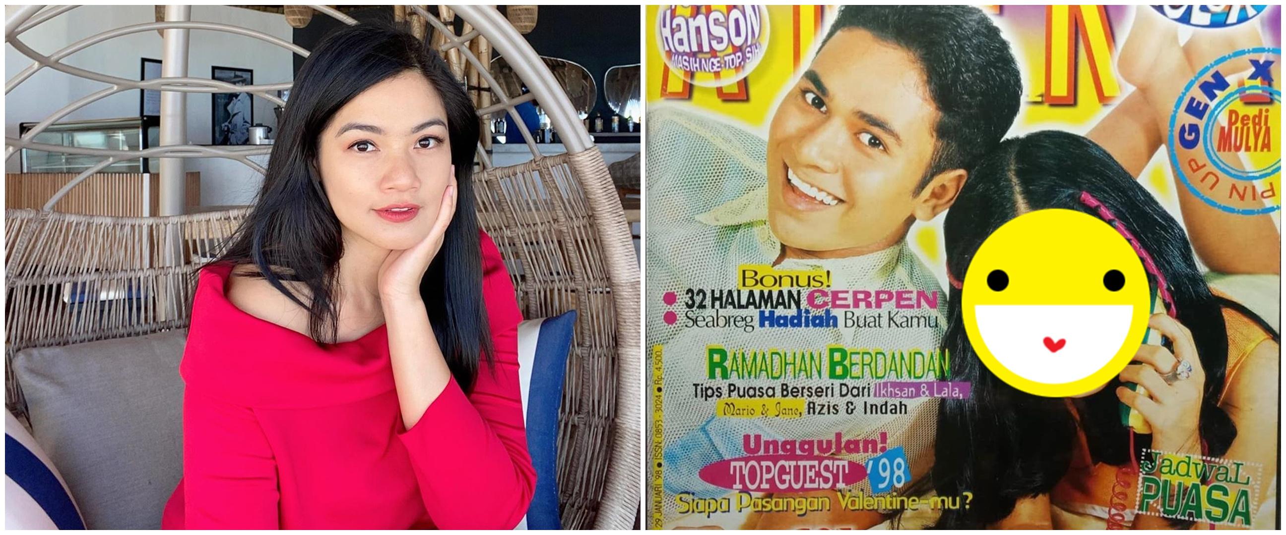 Unggah potret jadul 22 tahun lalu, wajah Titi Kamal jadi sorotan