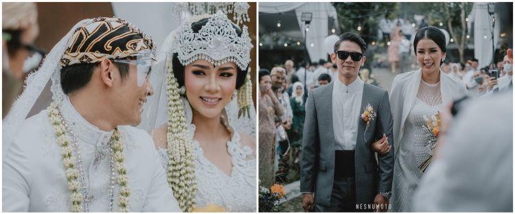 10 Momen bahagia pernikahan Dea Rizkita Miss Grand Indonesia 2017