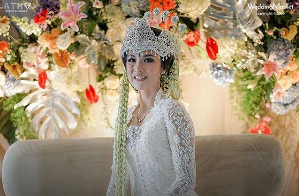 Chef cantik saat menikah © 2020 brilio.net