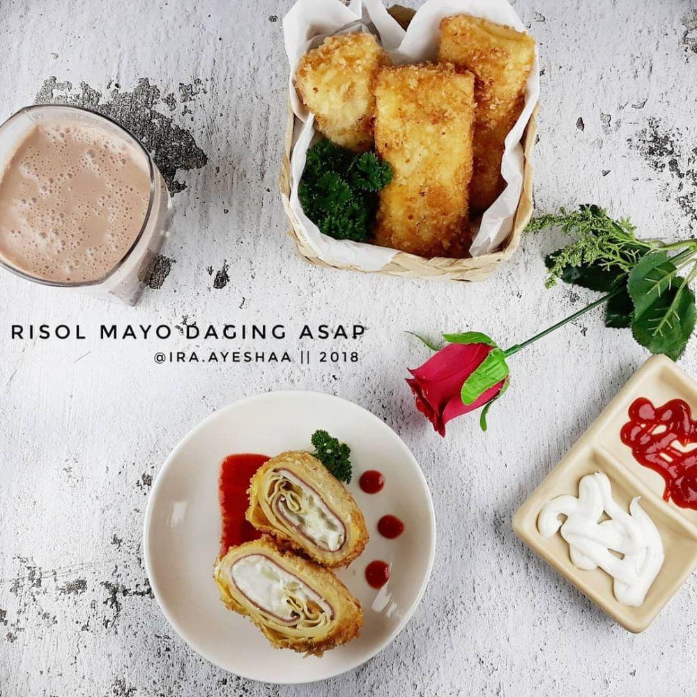 Resep makanan dengan saus mayones © 2020 brilio.net