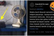 10 Curhat lucu netizen yang mengalami zaman wartel, ngangenin banget