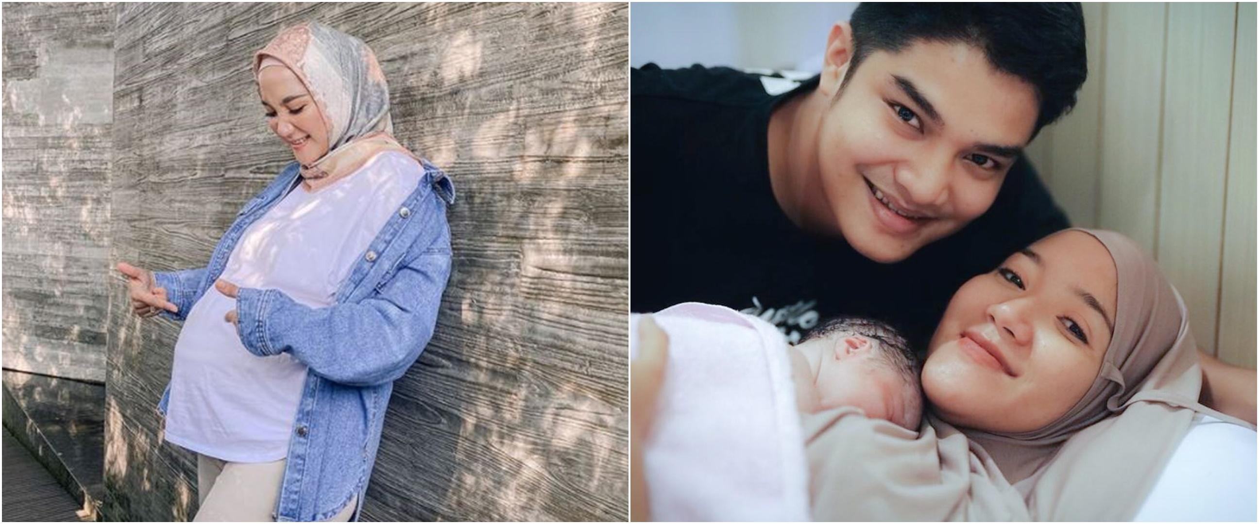Momen Erica Putri kakak Citra Kirana melahirkan, ini nama anaknya