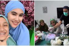 10 Momen kejutan ultah anak tiri Kartika Putri ke-15, seru abis
