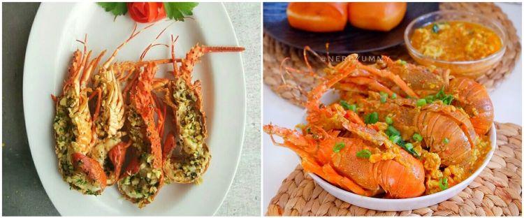 10 Resep olahan lobster ala rumahan, enak dan bergizi