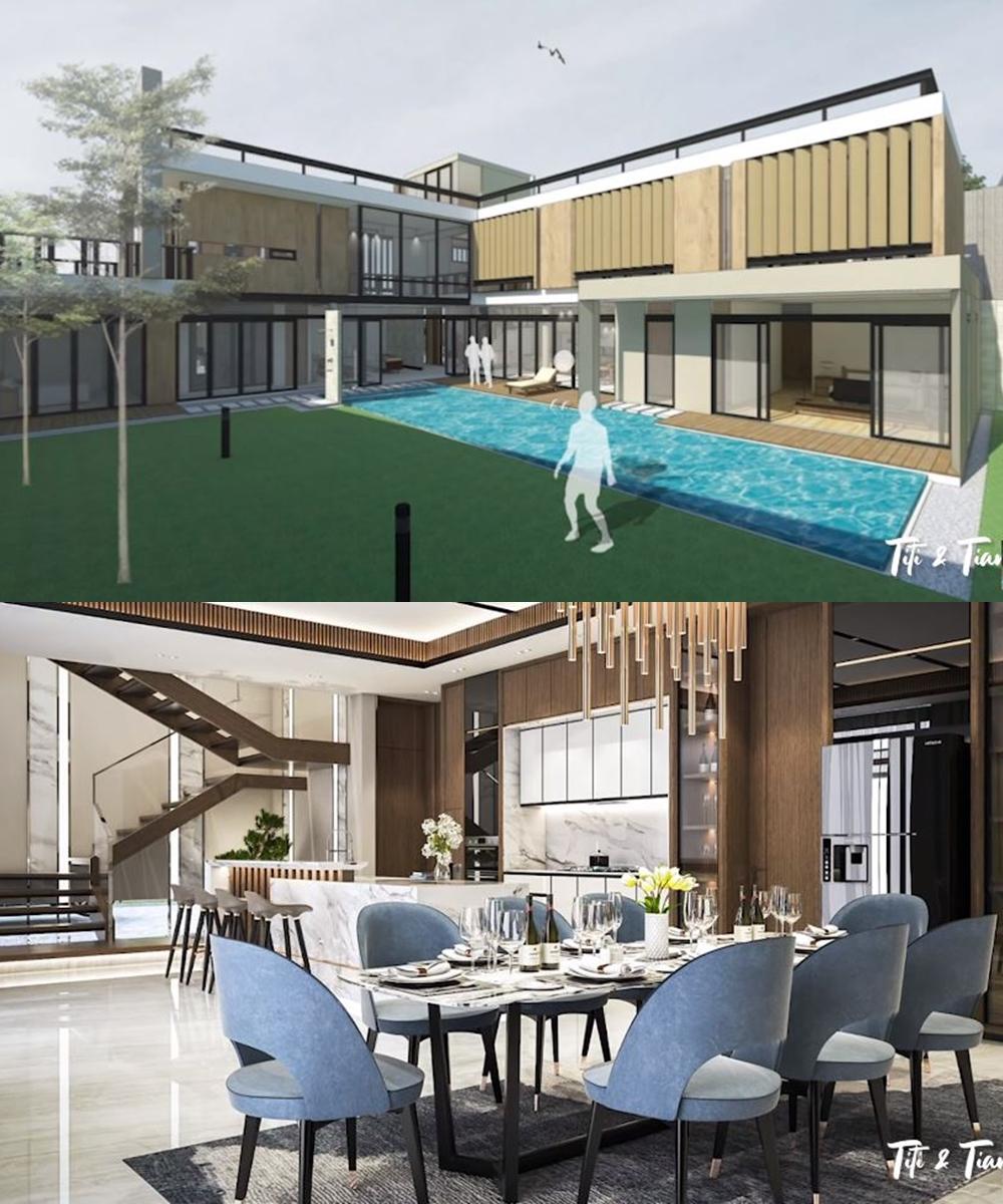 Desain rumah baru seleb  Instagram & YouTube
