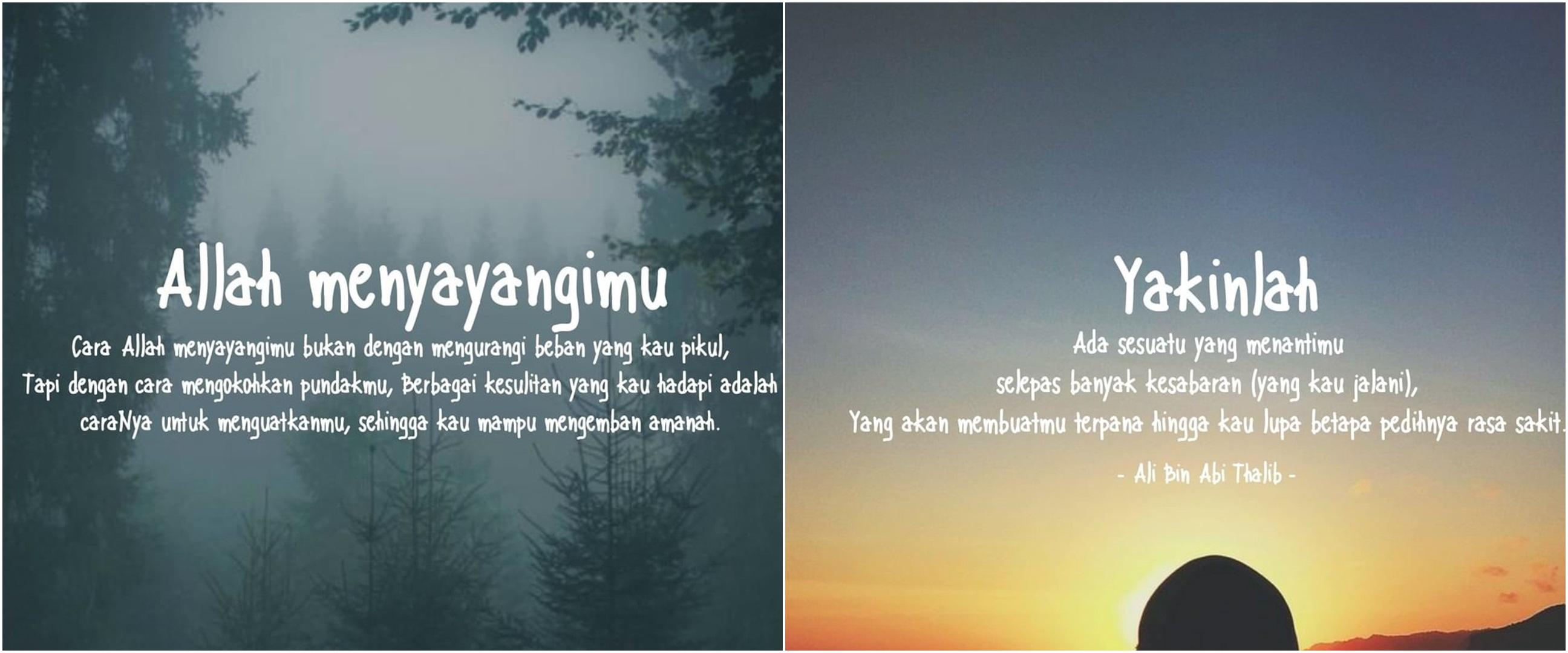 45 Kata kata bijak Islami tentang renungan diri, penuh motivasi