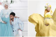 10 Maternity shoot Adhitya Putri di kehamilan kedua, usung beda tema