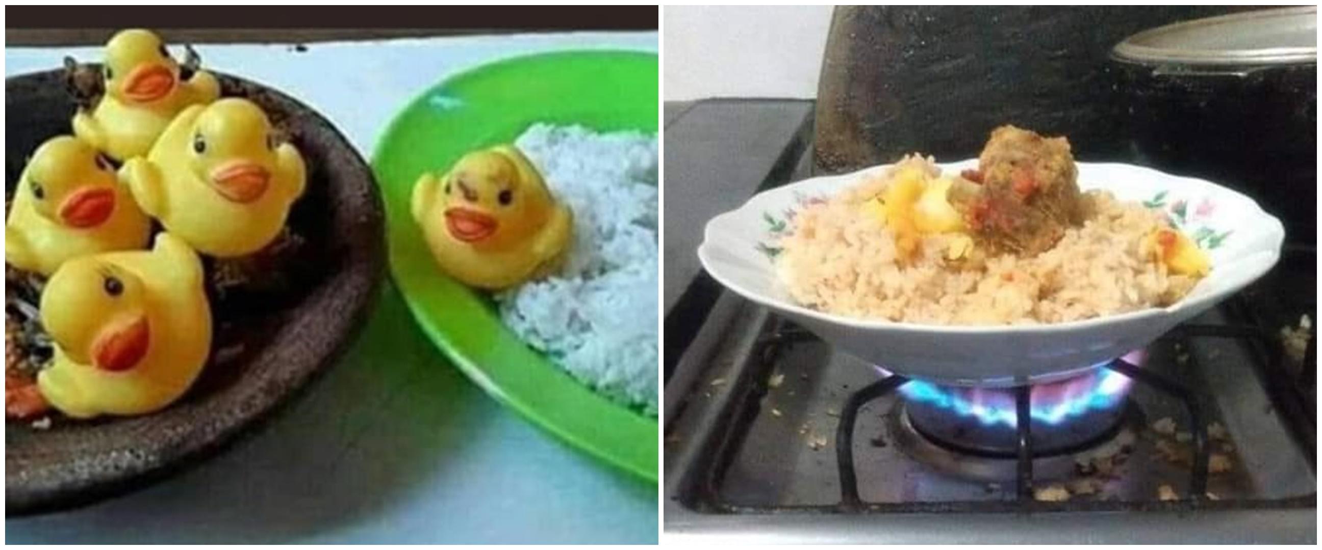 11 Potret lucu kalau bapak-bapak dibiarkan masak sendiri