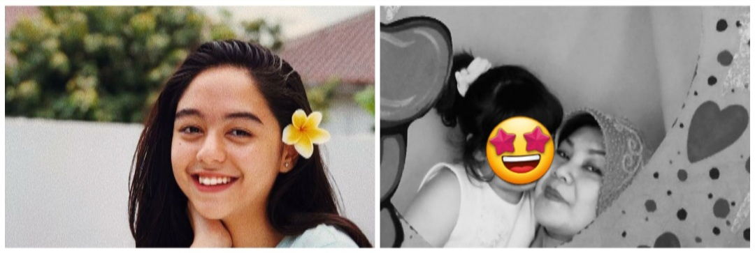 10 Potret transformasi Yasamin Jasem, berparas cantik sejak kecil